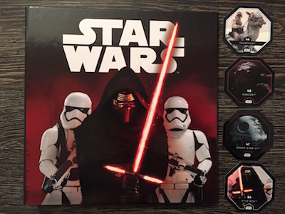 Carrefour Album Jetoane Star Wars Cosmic Shells