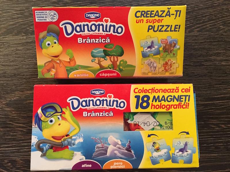 Danonino - 18 magneti holografici
