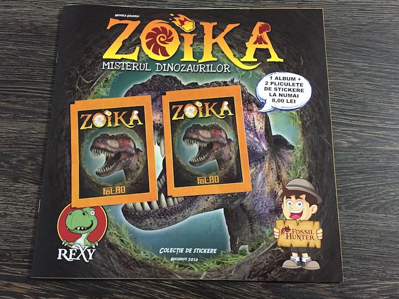 Zoika - Misterul Dinozaurilor, album 2016