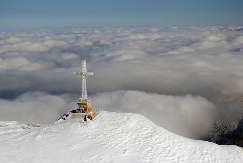 Crucea de pe muntele Caraiman