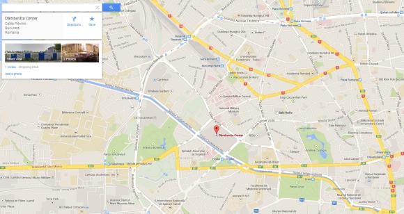 Dambovita Shopping Center - localizare pe harta