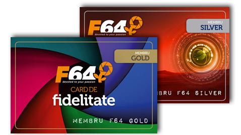 Program fidelizare F64 - Client Silver sau client Gold