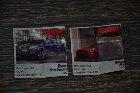Guma turbo, numerele 102 si 108