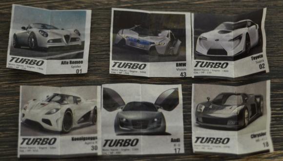Surprize de la Guma Turbo Mert - Imagini si Checklist 2014