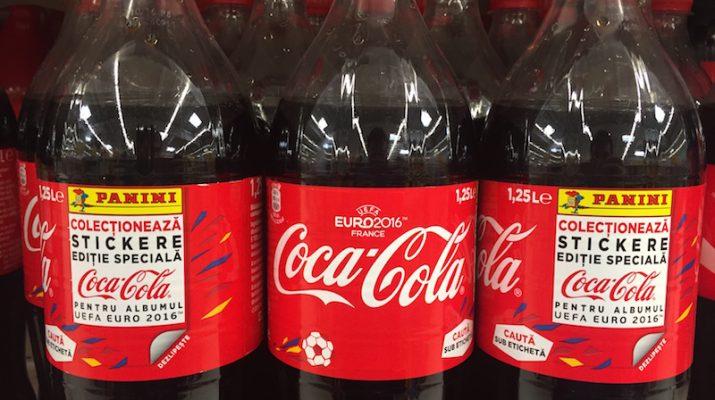 Extrastickere Coca Cola - France 2016
