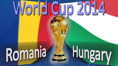 WC 2014 - Romania vs. Ungaria