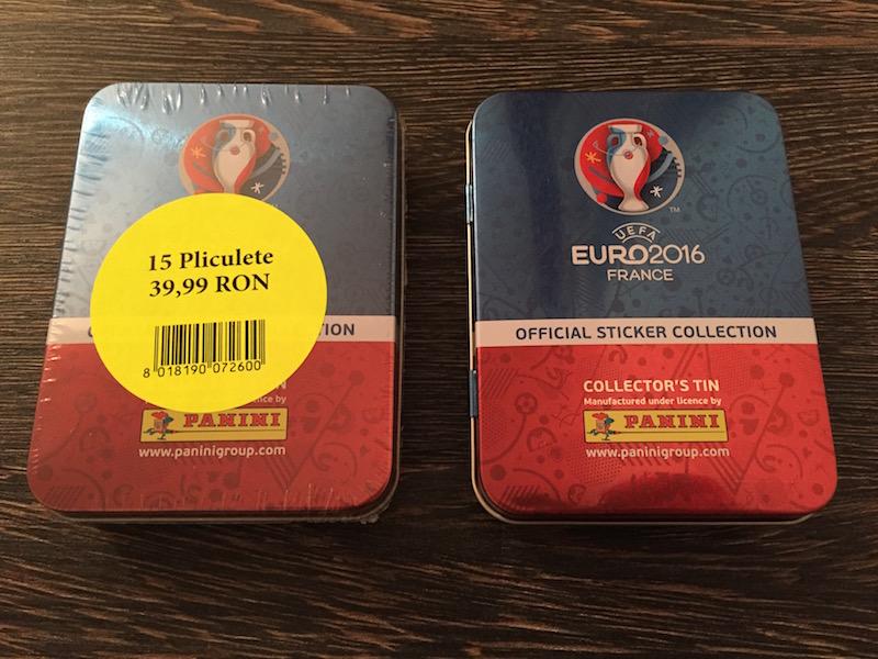 Panini Euro France 2016 - Cutii metalice